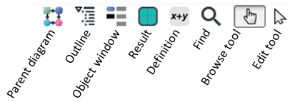 Toolbar browse buttons annotated.png