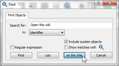 Find dialog with Open this wiki.png
