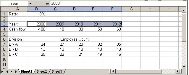 Functions To Read Excel Worksheets - Analytica Wiki
